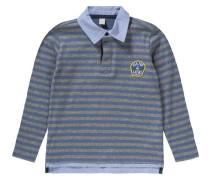 Poloshirt für Jungen hellblau / grau