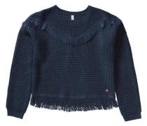 Pullover für Mädchen nachtblau
