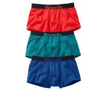Boxer (3 Stück) blau / rot