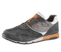 Sneaker cognac / hellgrau / weiß