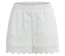 Spitzen-Shorts weiß