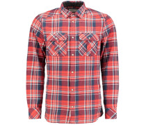Flannel Shirt 'violator' rot