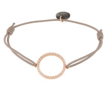 Armband 'Circle of Life' gold / taupe