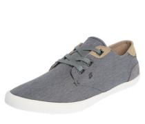 Sneaker mit breiten Schnürsenkeln grau