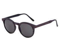 Klassische Sonnenbrille dunkelbraun