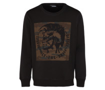 Sweatshirt 's-Joe-Rb Sweat-Shirt' schwarz