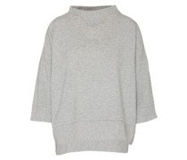 Sweatshirt 'Sundan Marl 3/4 Slv' hellgrau