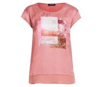 T-Shirt Satinfront mischfarben