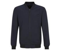 Hochwertiger eleganter Blouson ultramarinblau