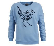 Sweatshirt 'marita' blau