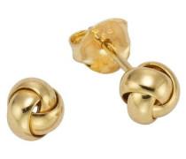 Ohrstecker »Knoten« gold / silber