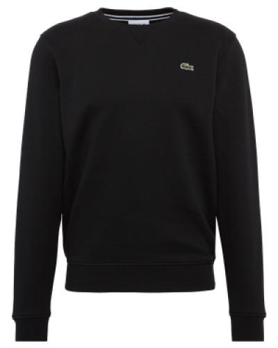 Sweatshirt mit Logo-Emblem schwarz