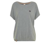 Casual T-Shirt basaltgrau