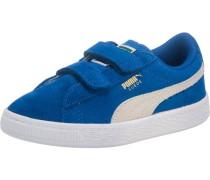 Kinder Sneakers 'Suede' blau / naturweiß