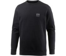 'Crew' Sweatshirt Herren schwarz