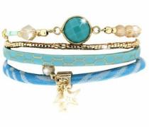 Armband »Luana 5445« türkis / gold