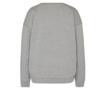 Sweatshirt 'Rock 'n' Roll' grau / rot