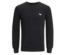 Sweatshirt Weihnachts schwarz
