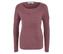 Grobstrick-Pullover pink