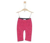 Wendehose aus Jersey nachtblau / pink
