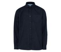 Flanellhemd schwarz