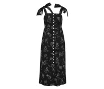 Kleid 'Charlie' schwarz / weiß