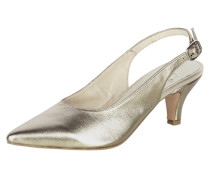 Slingpumps gold