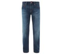 Used-Jeans blue denim