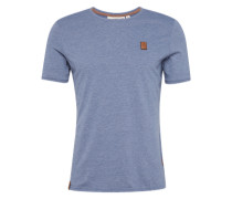 T-Shirt 'Italienischer Hengst VI' taubenblau