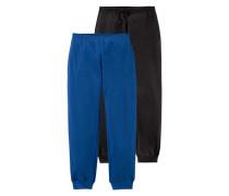 CFL Sweathose (Packung 2 Stück) blau / schwarz