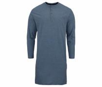 Nachthemd 'Seidensticker' himmelblau