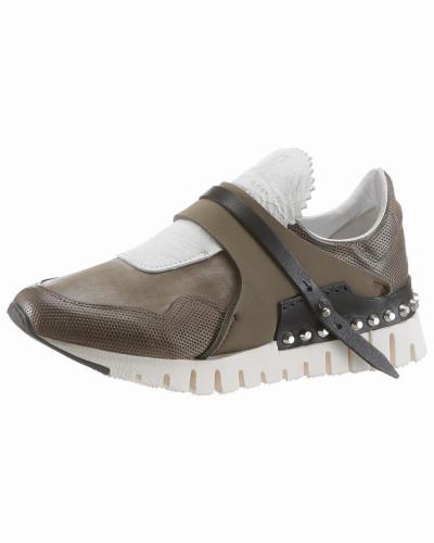 A.S.98 Damen Sneaker 'Denalux' khaki / offwhite