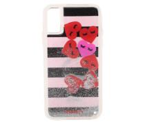 Smartphonehülle für das Apple iPhone 8 'Hearts Stripes'