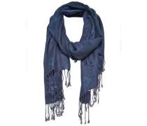 Einfarbiger Schal himmelblau / blue denim