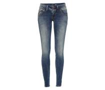Stretchige Skinny Jeans Molly blau