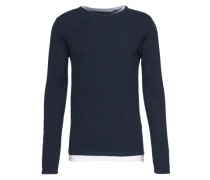 Layer-Pullover navy