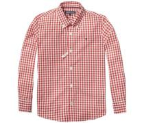 Hemd »Carter Gingham Shirt L/s« rot
