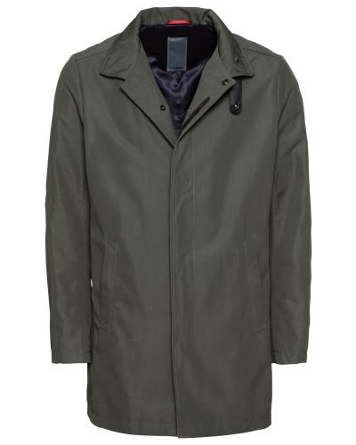 Mantel 'ciporter' grau / khaki