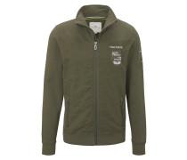 Strick & Sweatshirts Sweatjacke mit Stehkragen