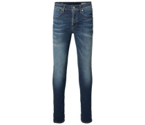Blue - Skinny Fit Jeans blau