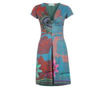 Kleid 'Little Rock' im schönen Muster jade / mischfarben