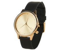 Armbanduhr 'Estelle Classic' goldgelb / schwarz