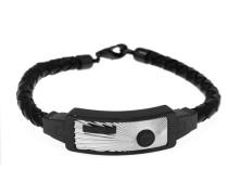 Armband 'rh51098Ns' schwarz