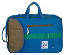 Dublin Rucksack 40 cm Laptopfach blau / oliv / grasgrün