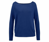 Wollpullover blau