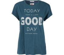 T-Shirt (mit Arm) 'thdw CN T-Shirt S/S 16' türkis