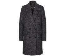 Woll Mantel grau