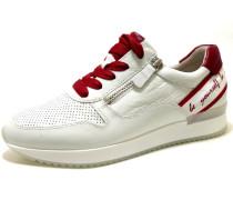 Sneakers weiß / rot