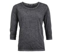 Shirt 'solveig' dunkelgrau / schwarz