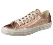 Sneaker 'Chuck Tailor All Star' in Reptil-Optik rosegold